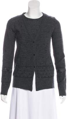 Valentino Wool Vintage Cardigan Set