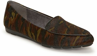 Me Too Haircalf Wedge-Sole Loafers - Anissa