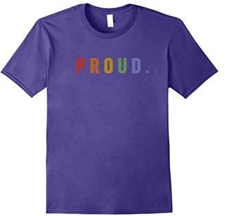 National Pride March Shirt LGBT Proud Vintage Rainbow