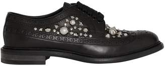 Burberry embellished oxfords