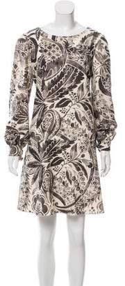 Philosophy di Alberta Ferretti Wool Mini Dress