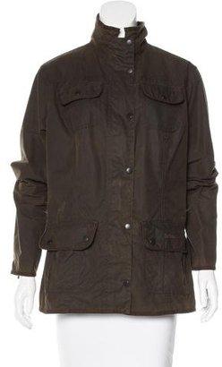 Barbour Zip Cargo Jacket $150 thestylecure.com
