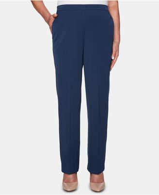Alfred Dunner Petite Cote D'Azur Straight-Leg Pants