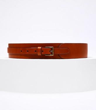 LOFT Wide Buckle Belt
