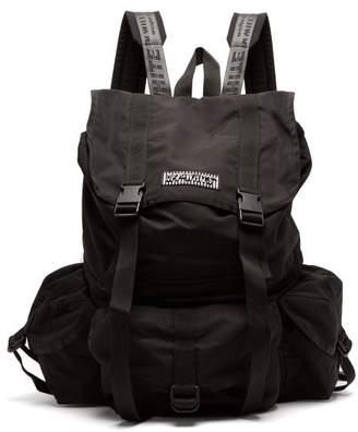 Off-White Multi Pocket Backpack - Mens - Black White