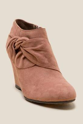 Laundry by Shelli Segal Cl By Laundry CL by Laundry Viveca Wedge Ankle Boot - Blush