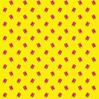 Wall Candy Arts WallCandy Arts Twin Pops Wallpaper, Pink/Yellow