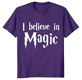 I Believe in Magic Fantasy Mystical Fairy-tales T-Shirt