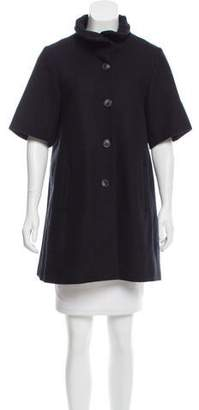 Opening Ceremony Short Sleeve Wool Jacket