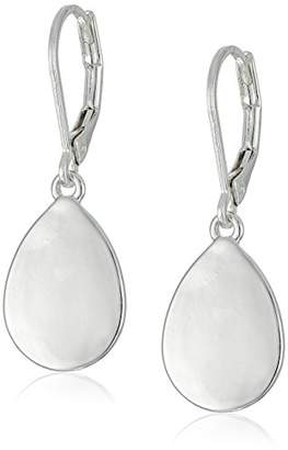 "Nine West Classics"" -Tone Tear Drop Earrings"