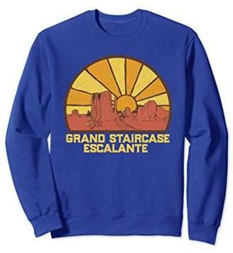 Retro Grand Staircase Escalante Sweatshirt
