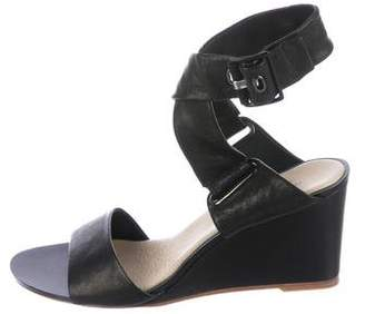 Rag & Bone Leather Wrap-Around Wedges