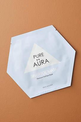 Anthropologie Pure Aura Cure Silver Foil Sheet Mask