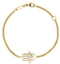 Chopard Happy Diamonds Hamsa Hand Diamond& 18K Rose Gold Bracelet