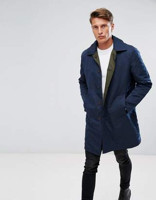 French Connection Reversible Trench Jacket