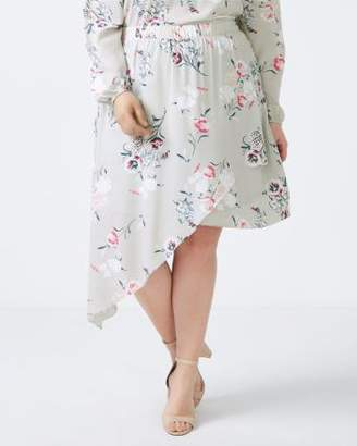 Penningtons Asymmetric Floral Skirt - In Every Story