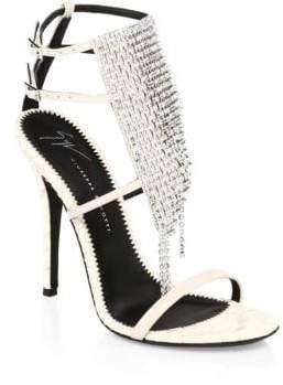 Giuseppe Zanotti Alien Crystal Stiletto Sandals