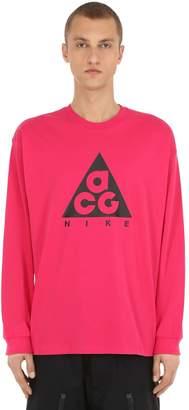 Nike Acg M Nrg Acg Long-sleeve Logo T-shirt