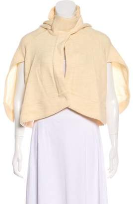 Viktor & Rolf Cropped Tie-Front Cardigan