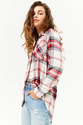 Forever 21 Flannel Plaid Shirt