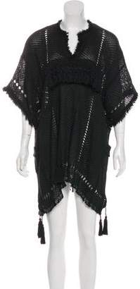 Isabel Marant Fringe-Trimmed Mini Dress w/ Tags