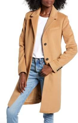 Calvin Klein Jeans Wool Blend Coat