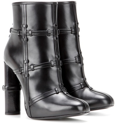 Tom Ford Patchwork leather boots