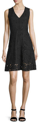 Theory Jemoine Embroidered Linen Dress $455 thestylecure.com