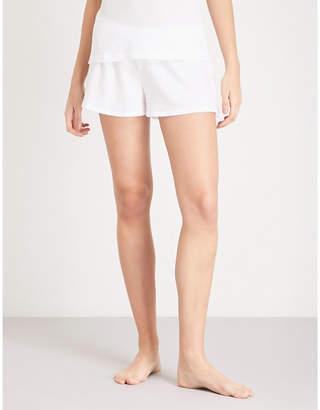 Skin Agata cotton-jersey pyjama shorts
