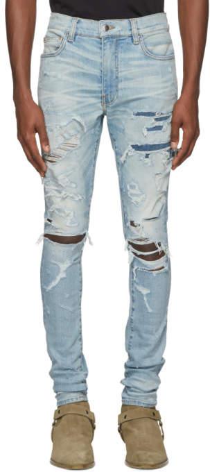 Indigo Super Destroy Jeans