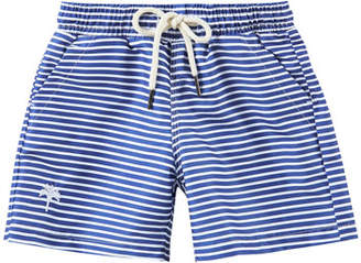Trunks OAS Kid's Striped Drawstring Swim Trunks, Size 2-14