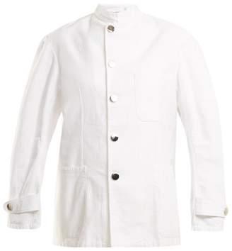Myar - 1990s Imj9a Marine Cotton Jacket - Womens - White