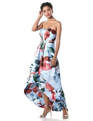 Parker Women's Clara Pleated Bodice High Low Dress