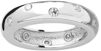 Sterling Forever Sterling Silver CZ Etoile Ring