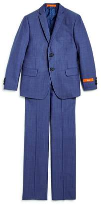 Tallia Boys' Neat Suit Jacket & Pants Set - Big Kid