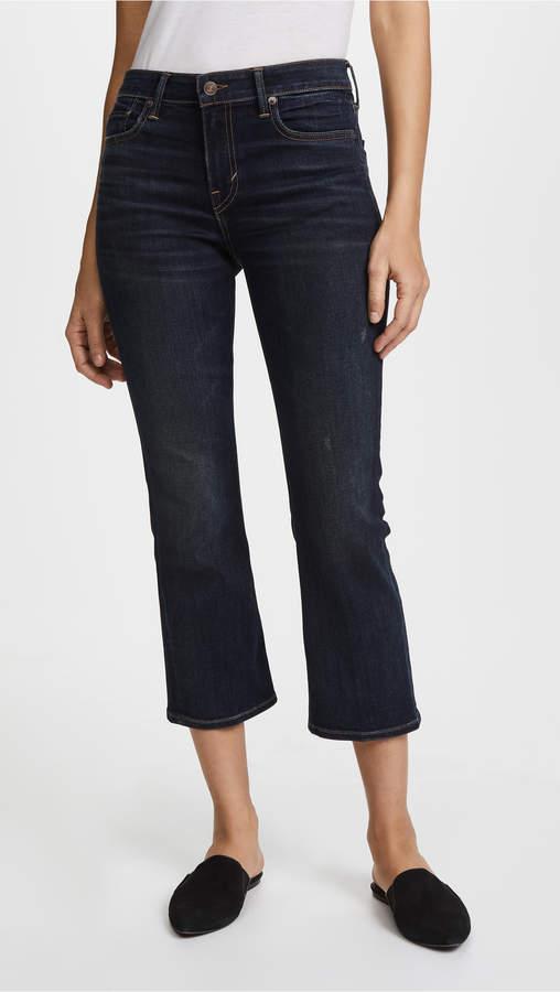 5 Pocket Crop Flare Jeans