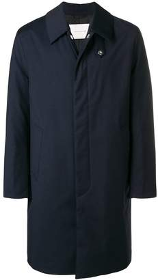 MACKINTOSH straight-fit coat