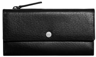 Shinola Leather Continental Wallet