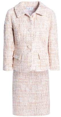 Mikael Aghal Sequin-embellished Boucle-tweed Suit