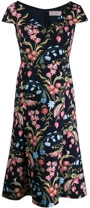 Peter Pilotto floral print dress