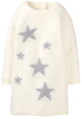 Crazy 8 Fuzzy Star Sweater Dress