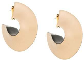 Vanda Jacintho geometric disc earrings