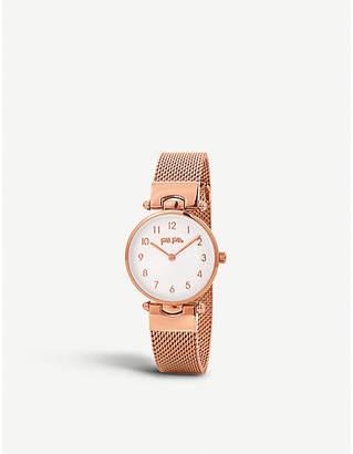 Folli Follie WF17R015BSSXX Lady Club rose-gold plated watch