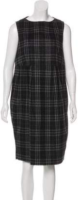 Burberry Wool Nova Check Dress
