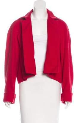 Saint Laurent Open Front Knit Jacket