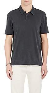 James Perse Men's Jersey Polo Shirt - Black