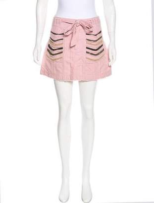 Marc by Marc Jacobs Distressed Mini Skirt