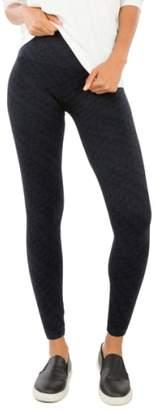 Spanx R) Seamless Print Leggings