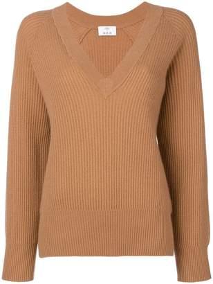 Allude cashmere V-neck jumper
