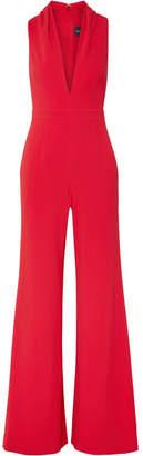 Brandon Maxwell - Crepe Jumpsuit - Crimson